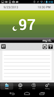 Screenshot of iFORA Diabetes Manager