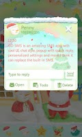 Screenshot of GO SMS Pro Z Rayna Theme EX