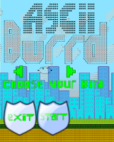 Screenshot of Ascii Birds