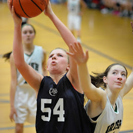 Rebound by Julie Cox - Sports & Fitness Basketball ( basketball, 7th grade )