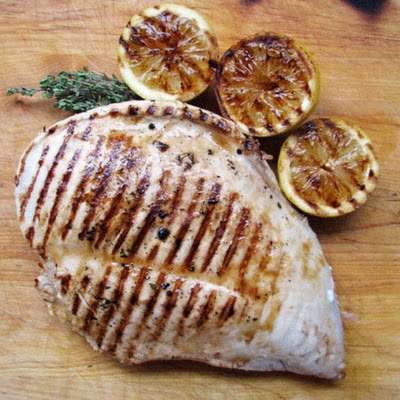 Lemon Grilled Turkey Breast
