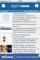 Screenshot of AlgerieNews