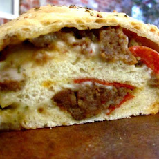 Meat Lovers Stromboli
