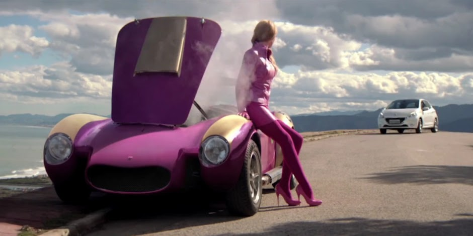 Peugeot 208 Wacky Races Advert