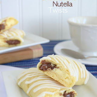 Cheesecake Nutella Twists