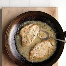 Chicken Paillards with Lemon-Butter Sauce