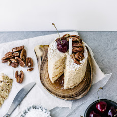 Buttermilk Pancake Layer Cake with Malted Pecan Buttercream