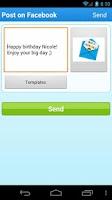 Screenshot of Happy B'day! Birthday Reminder