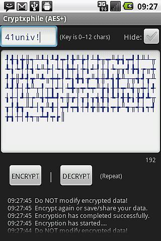Cryptxphile - AES Encryption