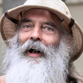 by Judy Rosanno - People Portraits of Men ( beard, portrait, man, hat,  )