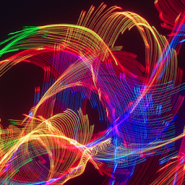Laser shake ! by Jim Barton - Abstract Patterns ( laser light, colorful, light design, shake, laser design, laser, laser light show, laser shake, light, science )