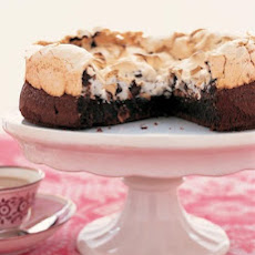 Chocolate and Hazelnut Meringue Cake