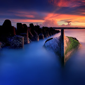 Unidentified Object by Made Suwita - Landscapes Waterscapes ( bali, sunset, beach )