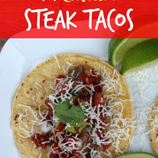 Mexican Steak Tacos with Steak Marinade Recipe!