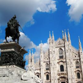 Il Duomo di Milano Italy by ANNA RIBOTTA - Buildings & Architecture Statues & Monuments (  )