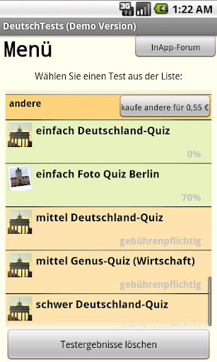 DeutschTests GermanTests
