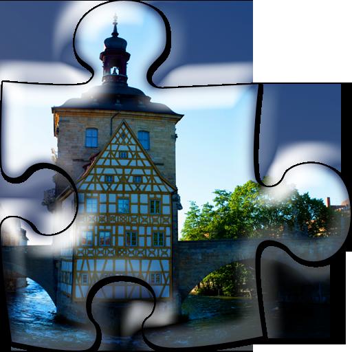 Bamberg-Puzzle für Smartphones LOGO-APP點子