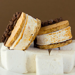S'mores Moon Pies with Homemade Marshmallows