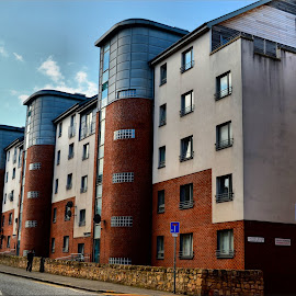 Flats in Edinburgh by Nic Scott - Buildings & Architecture Homes ( building, flats, homes )