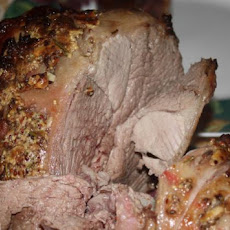 Rosemary-Mustard Roast Leg of Lamb