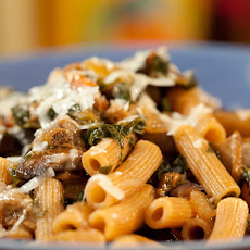 Portabella and Spinach Bolognese