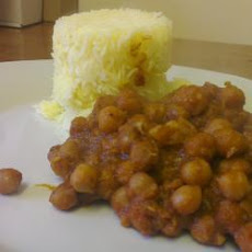 Easy Curried Chickpeas