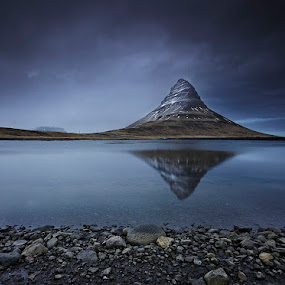 Kirkjufell Mountain  by Fokion Zissiadis - Landscapes Mountains & Hills ( landscape kirkjufell iceland,  )