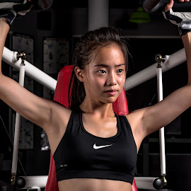 by Steve NG - Sports & Fitness Fitness ( sexy, female, fitness, gym, nike, workout )