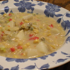 Creamy Clam Corn Chowder