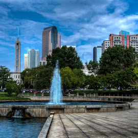 by Tony Cox - City,  Street & Park  Fountains