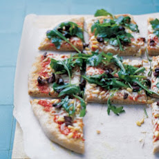 Whole-Wheat Greek Pizza