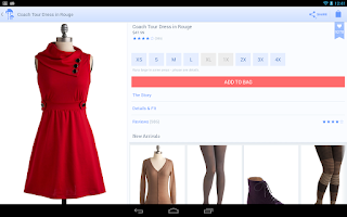 Screenshot of ModCloth