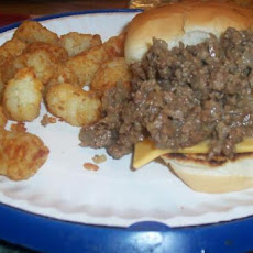 White Castle Sloppy Joes