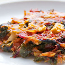 Baked Orzo with Chard, Feta and Dill