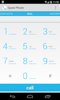 Screenshot of Spare Phone - VoIP Voice Calls
