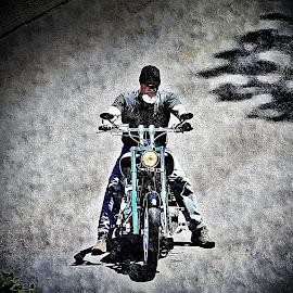 by Diane Merz - Transportation Motorcycles