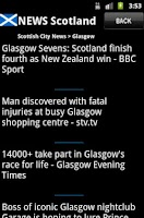 Screenshot of News Scotland