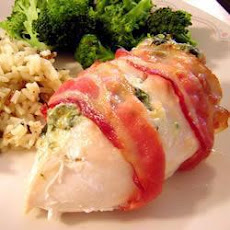 Spinach and Cheddar Stuffed Chicken Breasts