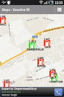 Screenshot of Top Gasolineras España