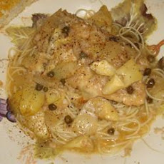 Chicken Piccata with Artichokes