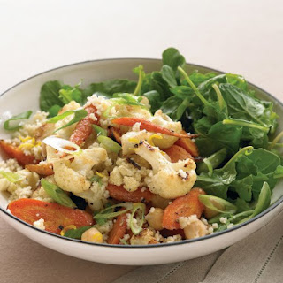 Couscous Salad with Roasted Vegetables and Chickpeas