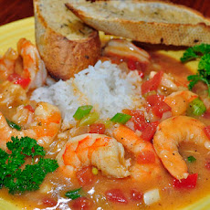 Spicy and Savory Fish and Seafood Etouffee