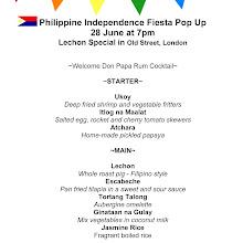 Philippine Independence Fiesta Pop Up