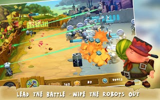 Screenshot of Stop The Robots
