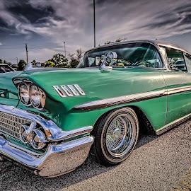 Green Impala by Ron Meyers - Transportation Automobiles
