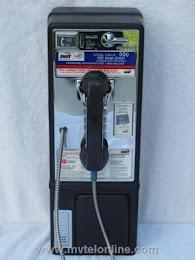 Single Slot Payphones - NOS SNET 50 cent loc A-8 1