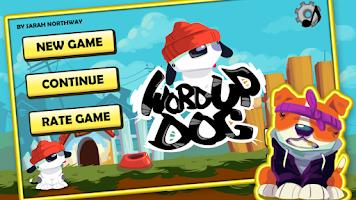 Screenshot of Word Up Dog