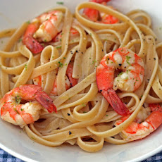 Dinner Tonight: Linguine with Citrus-Roasted Shrimp