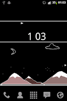 Screenshot of Pixel City Live Wallpaper