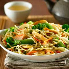 Chow Mein Chicken & Vegetable Stir Fry